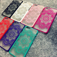 Mandala Palace Flower Phone Cases Cover For iPhone 7 5 5G 5S 5C SE 6 6G 6S 6Plus