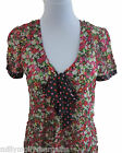 New Womens Green Black Pink Red NEXT Blouse Top Size 12 10 Petite 8 RRP £25