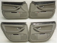 Audi A8 D3 FL SWB Set Of 4 Platinum Door Cards