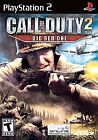 Call of Duty 2: Big Red One PS2 (Sony PlayStation 2 2005) Black Label & Complete