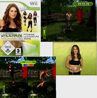 Jillian Michaels Fitness Ultimatum 2009 Spiel Nintendo Wii Videospiel Neu OVP