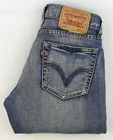 Levis 529 Damen Blau Bootcut Stretch Jeans W27 L32 (23810)