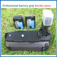 Battery Grip  BG-E7  BGE7 +2 LP-E6 Battery For Canon EOS-7D 7D SLR