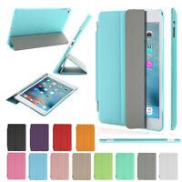 "Ultra Slim Leather Smart Wake Cover Case for Apple iPad 2 3 4 Mini Air Pro 9.7"""