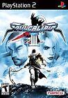 Soul Calibur III 3 PS2 (Sony PlayStation 2, 2005) BLK LBL - SHIPS TODAY!