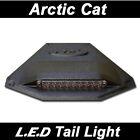 SKI-DOO L.E.D Universal Snowmobile Tail Light _ Black Housing Clear Lense