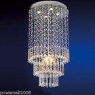 SL8132 Duplex Stairs Transparent ¢50CM*H120CM Living Room Crystal Ceiling Light
