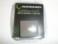 Gardner ATTs Tritium Max Betalight isotopes 2pk BLUE Fishing tackle