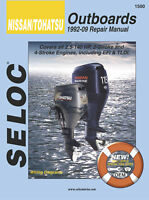SELOC 1500 REPAIR MANUAL For TOHATSU OUTBOARD MOTOR ENGINE   1500