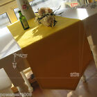 Rural Style Cotton Yellow Table Cloth / Cover 0.3 m X 1.8 m