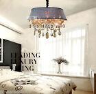 Modern Simple 5 Lights Cognac Color D 60*H46 CM Living Room Crystal Chandelier