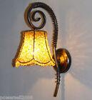 Bohemia Rural Mediterranean Wrought Iron Acrylic Beads 1*Light Wall Lamp