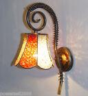Bohemia Mediterranean Style Wrought Iron Acrylic 1*Light Decorative Wall Lamp