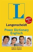 Langenscheidt Power Dictionary Englisch: Englisch-Deutsch/Deutsch-Englisch