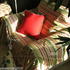 Simple Modern Top Grade Stripe Cloth Sofa Cover 190CM * 330CM