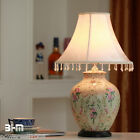 Modern Home Process European Rural Style Palace Painting Rose Table Lamp