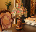 Modern Home Process European Rural Style Palace Resin Carved Table Lamp