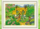 """country cottage""counted cross stitch kits"