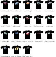 Tee-shirt avec RENAULT AUTOMOTIVE Partie 2 - Fruit of the Loom S M L XL 2XL 3XL