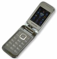 Samsung GT-C3590 Unlocked Sim Free Big Buttons Stylish Flip Mobile Phone Silver
