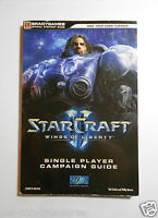 BradyGames STARCRAFT II WINGS OF LIBERTY Single Player Official Campaign Guide