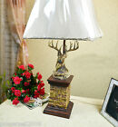European Classical Resin/Cloth Height 78.5cm Decorative Table Lamp/Light