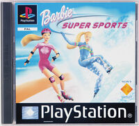Sony Playstation PS1 - Spiel | Barbie Super Sport | inkl. OVP | gut