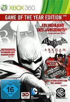 Batman: Arkham City -- Game of the Year Edition (Microsoft Xbox 360, 2012, DVD-B