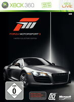 Forza Motorsport 3 -- Limited Collector's Edition (Microsoft Xbox 360, 2009) gut