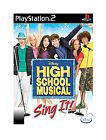 High School Musical: Sing It ( Sony PlayStation 2 PS2) - Game - no booklet
