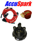 Mini 850,1000,1275 Accuspark 8mm cables,Rotor Rojo Tapa del distribuidor para