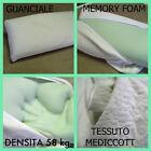oreiller MOUSSE À MÉMOIRE visco élastique matelas tissu Medicott anti-mite