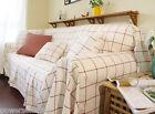Japanese Modern Minimalist Cloth Lattice Fluid Sofa Cover 170CM * 330CM