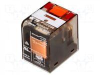 1 pcs Relais: électromagnétique; DPDT; Ude bobine:230VAC; 12A/250VAC