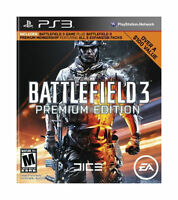 Battlefield 3 -- Premium Edition (Sony PlayStation 3, 2012)  COMPLETE  FAST PS3