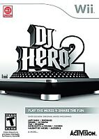 DJ Hero 2 (Nintendo Wii, 2010)  COMPLETE       FAST SHIPPING      Game only!