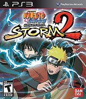 Naruto Shippuden: Ultimate Ninja Storm 2 (Sony PlayStation 3, 2010) Complete PS3
