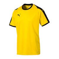 PUMA LIGA Camiseta manga corta amarillo negro F07