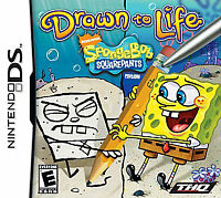 Drawn to Life -- SpongeBob SquarePants Edition (Nintendo DS, 2008)  COMPLETE