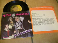 7/1 The Monsters- She's Not An Angel - The Boss + Infozettel