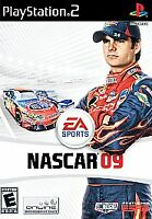 NASCAR 09 (Sony PlayStation 2, 2008)      COMPLETE     FAST SHIPPING !!      PS2