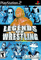 Legends of Wrestling Sony PlayStation 2, 2001 DISC ONLY TESTED FAST SHIPPING PS3