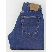 Levis 507 Mens Blue  Straight Tapered  Jeans  W30 L32 (18567)