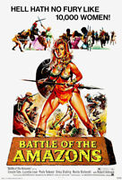 188849 Battle of the Amazons 1973 Movie Wall Print Poster Affiche