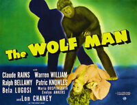 188476 The Wolf Man 1941 Movie Wall Print Poster Affiche