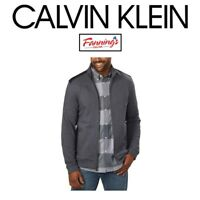 NEW! Calvin Klein Men's Full Zip Long Sleeve Jacket VARIETY SIZE AN COLOR! SALE!