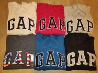 Gap Hoodie Men's Pullover Sweatshirt Fleece Arch Logo Jacket S M L XL XXL