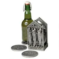 Design Toscano Medieval Norman Warriors Coaster Set