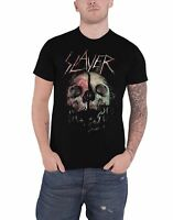 Slayer T Shirt Cleaved Skull Band Logo new Official Mens Black Size XL