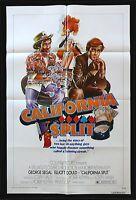 CALIFORNIA SPLIT * CINEMASTERPIECES 1SH ORIGINAL MOVIE POSTER 1974